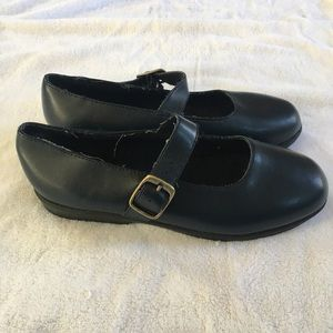 Vtg Buster Brown Leather Mary Janes Shoe Size 3M